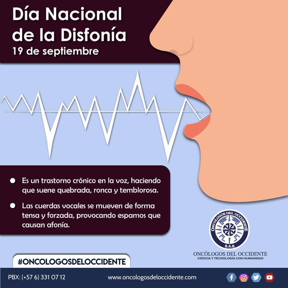 Día Nacional de la Disfonía