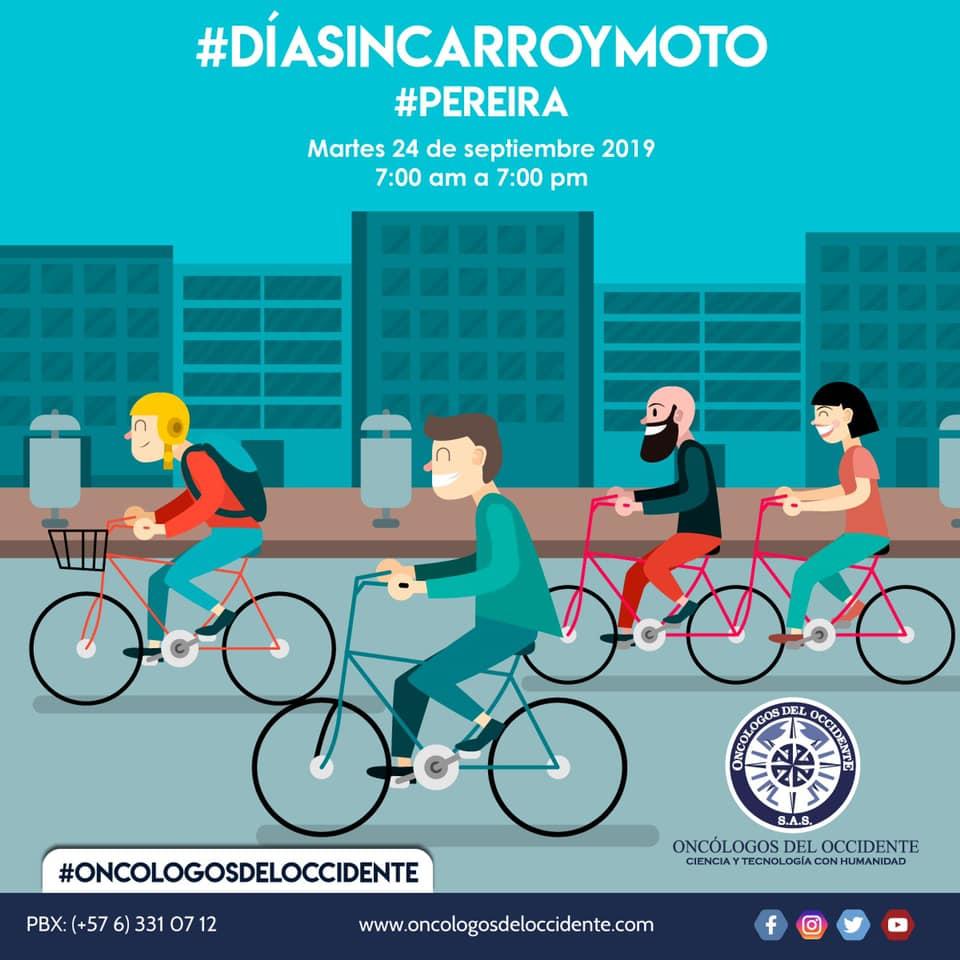 Día sin Carro y sin Moto en Pereira