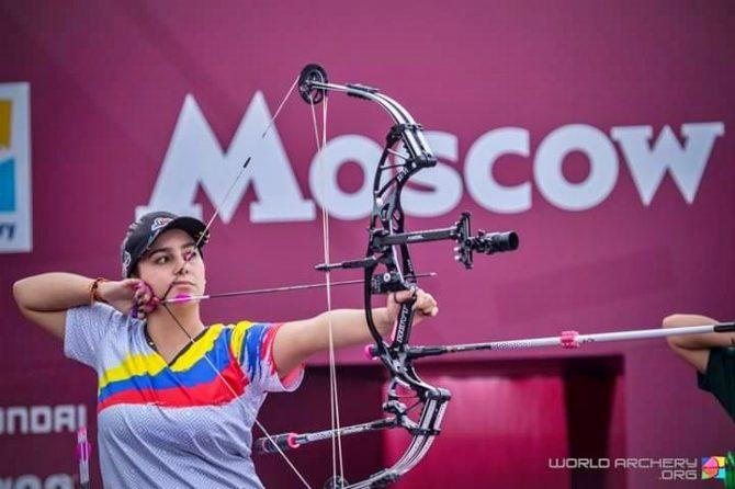Sara López, campeona en la copa mundial de tiro con arco en Rusia