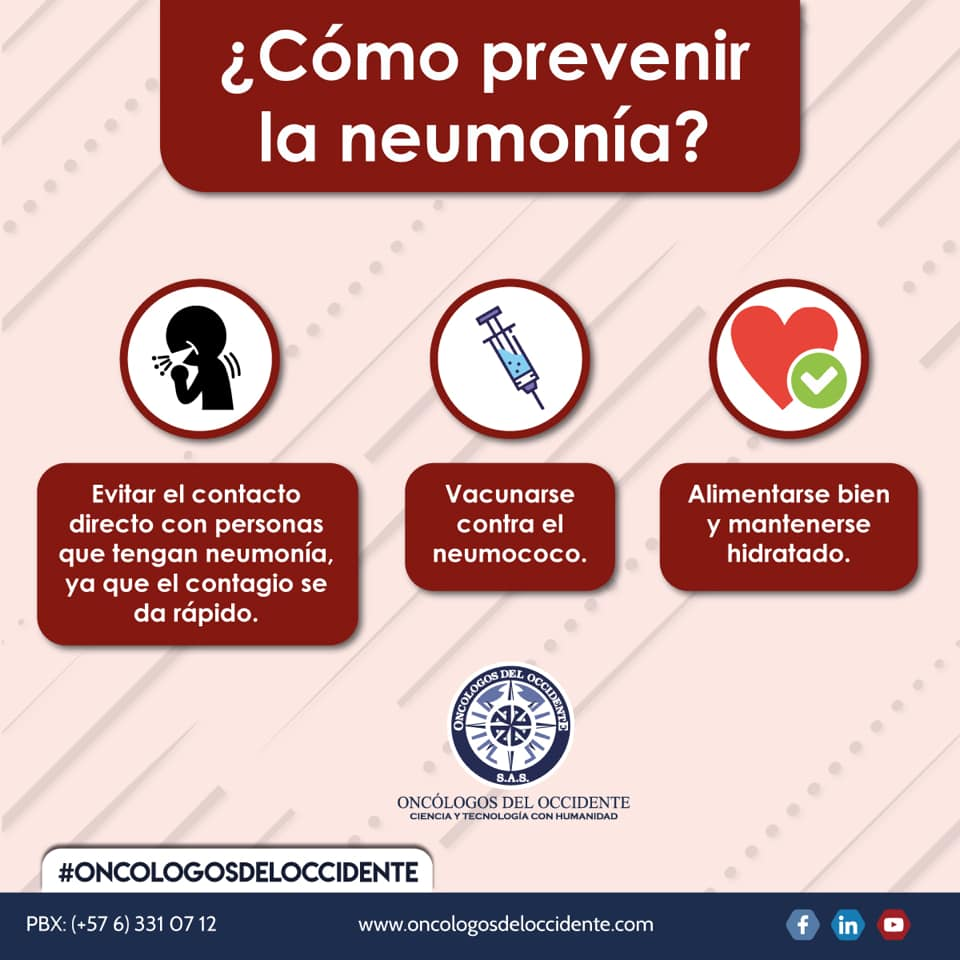 ¿Cómo prevenir la neumonía?
