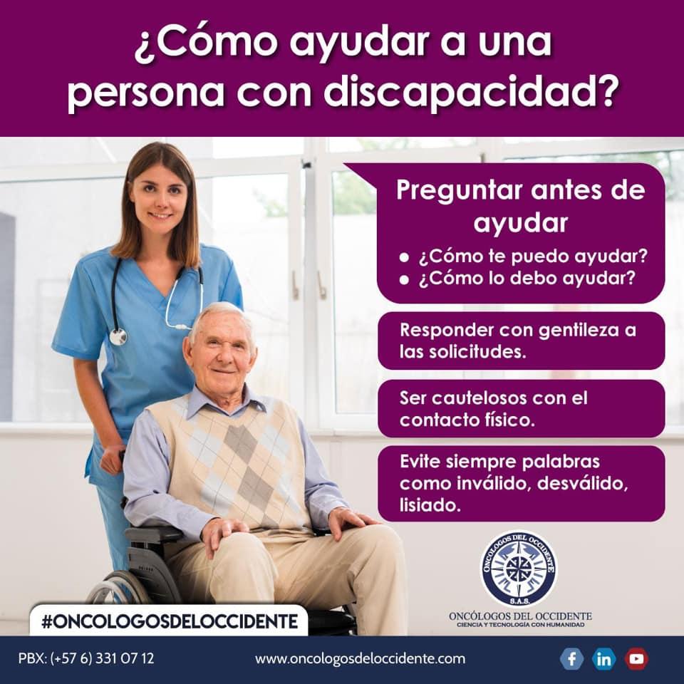 ¿Cómo ayudar a una persona con discapacidad?