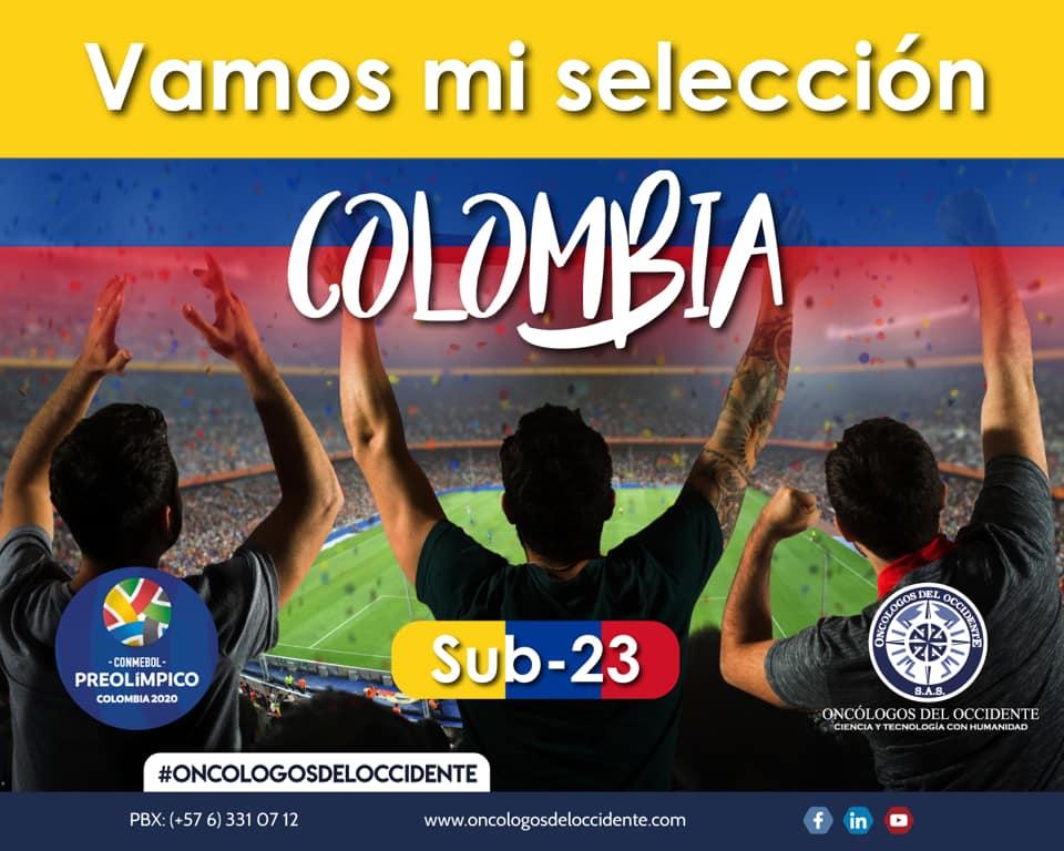 Vamos mi selección Colombia