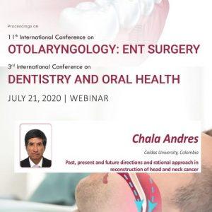 11° Congreso Internacional de Otorrinolaringología: Cirugía ENT y 3er Congreso Internacional de Odontología y Salud Oral