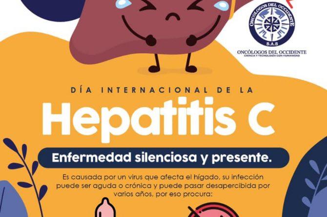 1 de octubre día internacional de la hepatitis C