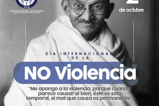 2 de octubre día internacional de la no violencia