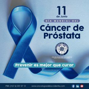 11 de Junio, día mundial del Cáncer de Próstata