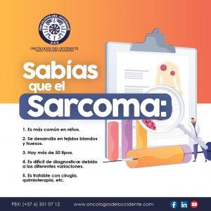 Sabías que el Sarcoma