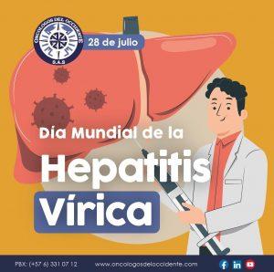 28 de Julio. Día Mundial de la Hepatitis Vírica
