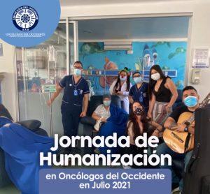 Vídeo de jornada de humanización (Julio 2021) en Oncólogos del Occidente