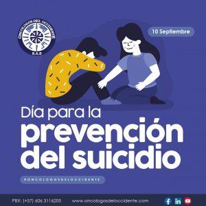 10 Septiembre. Día para la prevención del suicidio