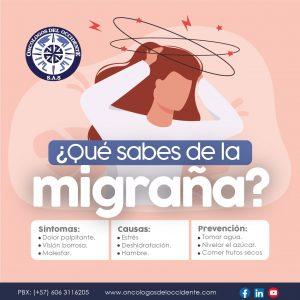 ¿Qué sabes de la migraña?