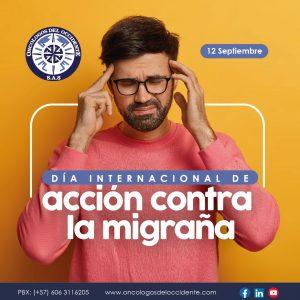 12 Septiembre. Día Internacional de acción contra la migraña