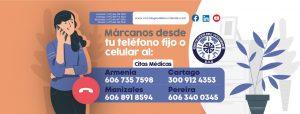 En Oncólogos Del Occidente tenemos nuevos números de PBX (información general) y Citas Médicas para Armenia, Cartago, Manizales y Pereira
