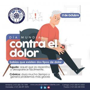 17 de Octubre. Día Mundial Contra el Dolor