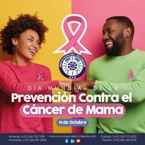 19 de Octubre. Día Mundial de la Prevención Contra el Cáncer de Mama